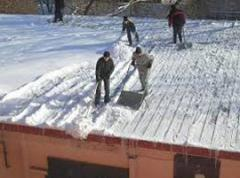 Чистка снега николаев