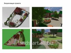 Improvement and gardening of garden sites