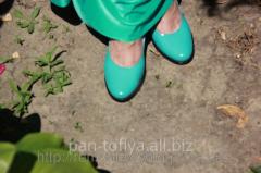Туфли лодочки женские лаковые под заказ, Киев
