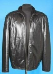 Services in repair of leather clothes, replacement