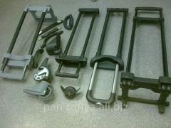 Installation and replacement of handles by