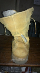 Figured pads on footwear, Kiev
