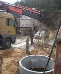 Construction of well and sewerage
