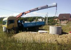 Rent of the crane manipulator