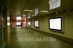 Реклама  - Подземный переход