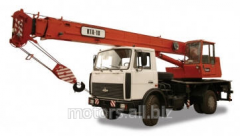Rent of the DAK KTA-18 truck crane