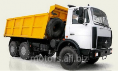 Lease of the MAZ 5516 dump truck