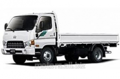 Rent of the malotonazhny Hyundai hd78 truck