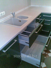 Production of kitchen furniture