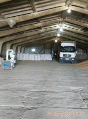 Хранение  контейнеров с сельхозпродукцией