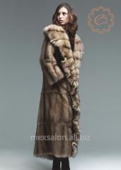 Tailoring of natural fur coats