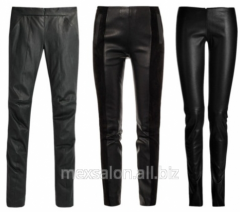 Tailoring of leather trousers