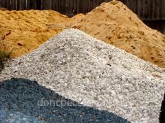 Доставка сыпучих материалов. Песок, Граншлак и щебень