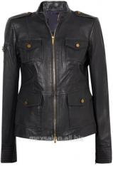Пошив на заказ женского пиджака из кожи