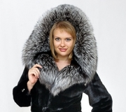 Tailoring of a hood from fur