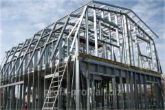 Individual construction of karasny houses,