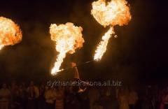 Фаер шоу в  Черкассах ,  огненное шоу  от шоу-проекта