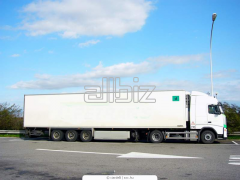 International automobile transport (trucks,