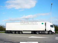 Международные автомобильные перевозки (фуры, рефрижераторы)