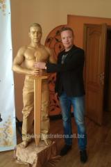 Живые статуи - золотой Оскар