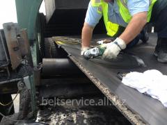 Послуги з ремонту й вулканізації конвеєрних стрічок