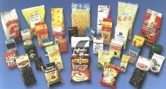 Fasovaniye of snacks