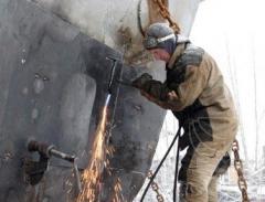 Навигационный и аварийный ремонт судов