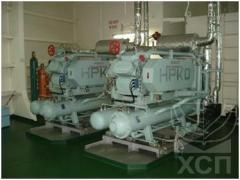 Дефектация, ремонт, установка, демонтаж судовых систем кондиционирования и рефрижерации