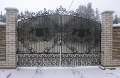 Manufacture of forged gates