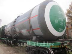 Rent of railway food tanks