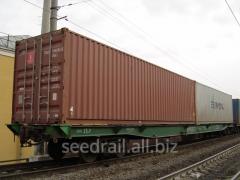 International container transport railway transpor