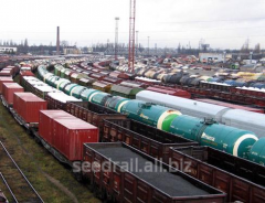 Transportation of heavy freights by rail