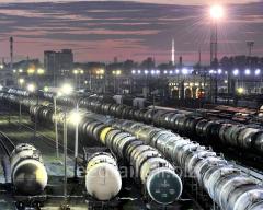 Cargo transportation by rail