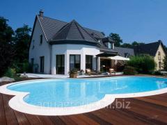 Development of design of pools