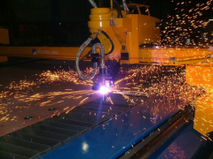 Cutting of metal rolling of any brand of steel