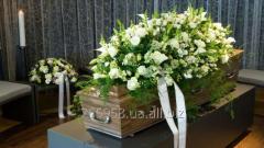 Услуги по организации похорон