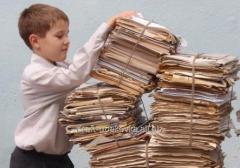 Utilization of waste paper