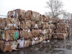 Export of a vtorosyrye waste