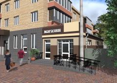 Проектирование реконструкции жилых помещений под коммерческие помещения (офис, магазин, кафе, аптека и т.д)