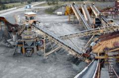Design of crushing and sorting lines