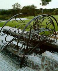 Forging of metal wares