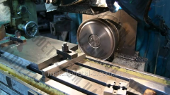 Horizontally milling multi-purpose works with ChPU