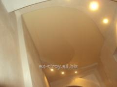 Монтаж потолков, натяжные потолки в доме