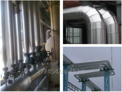 Теплоизоляция технологичного оборудования.