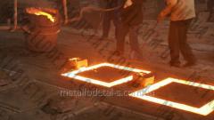Литье металла в землю
