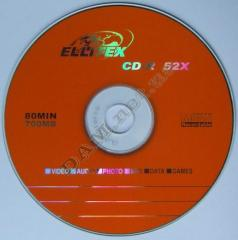 Disks for record of music