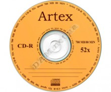 Record on cd disk