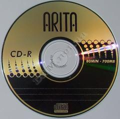 Record of DVD of disks