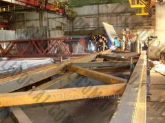 金属建設の設置