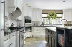 Interior design of kitchen Kiev